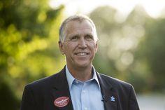 Model candidate: Thom Tillis running for US Senate