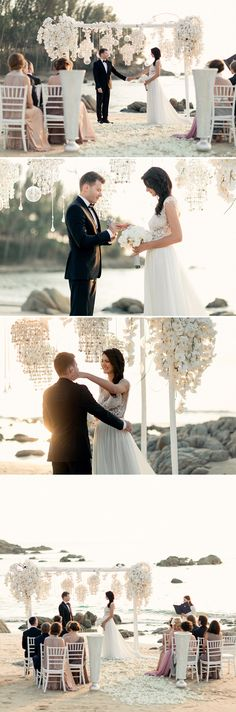 Beautiful Beach Wedding in Phuket Shot by Russian Photographer Konstantin Semenikhin