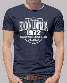 Edición Limitada 1972 Older Mens Fashion, Birthday Shirts, Print Design, Shirt Designs, Tees, Mens Tops, T Shirt, Printing, Funny