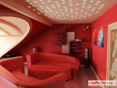 The Amazing Of Red Sofas for Your High Styles futuristic-red ...