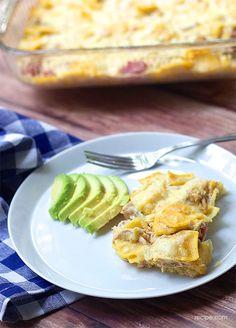 Three-Cheese Ziti and Smoked Chicken Casserole - Recipe.com