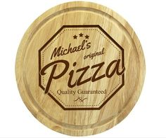 New to MillingtonsGifts on Etsy: Handmade Personalised Message Pizza Board - (24.95 GBP)