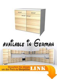 B001TKT03S : Küchen Unterschrank Sienna 60 cm Vanille Zwetschge ...