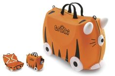 Trunki Tipu Tiger suitcase for kids