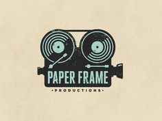 Paper Frame Productions #logo #design #inspiration