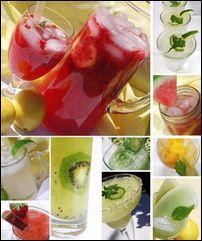 many different lemonades