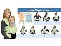 Cómo poner fulares portabebes elásticos - YouTube Baby Time, Breastfeeding, Family Guy, Fictional Characters, Nova, Easy, Youtube, Baby Things, Breast Feeding