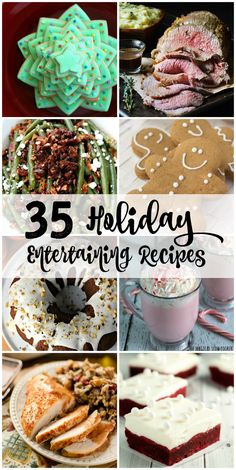 35 of the BEST Holiday Recipes all in one place to help you host the tastiest parties this holiday season! PLUS, we are giving away $350 too! Happy Holidays to you!!