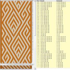 39 tarjetas, 2 colores, repite cada 36 movimientos // sed_1077 diseñado en GTT༺❁