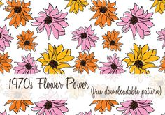 Getting in the spirit of Spring, this kitschy flower pattern can be used for everything – bridal shower invitations, thank you notes, recipe cards…the possibilities are endless with this free printable pattern. The original file comes as eps file so I reformatted to Tiff so users who don't have Illustrator or Photoshop can enjoy the …