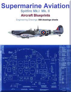 Avro lancaster aircraft blueprints engineering drawings download supermarine spitfire mki mk ii aircraft blueprints engineering drawings download malvernweather Choice Image