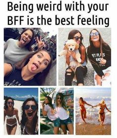 Dear Best Friend, Best Friends Funny, Best Friends For Life, Best Friend Pictures, Cute Friends, Best Friend Goals, Best Friends Forever, Besties Quotes, Bestfriends