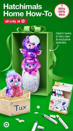 Make everyone's favorite gift Hatchimals even better with a DIY nest for their new toy to call home.