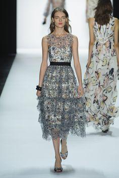 Badgley Mischka at New York Fashion Week Spring 2016