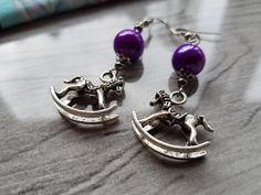 Ohrringe & Ohrhänger - Ohrringe Schaukelpferde - ein Designerstück von atelier-house-decor bei DaWanda
