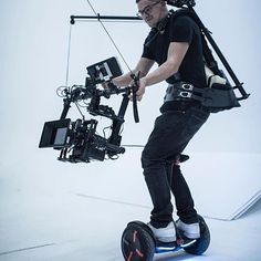 When you are working and playing at the same time Camera Op: Yuri Photo by cinematographer @jeremy benning Tag someone who wants to do this #cameras #arri #alexamini #ninja #cameraoperator #cameraman #tech #movi #gear #behindthescenes #loveyourjob #lovemyjob