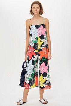 6c67b8d26899 Strappy Floral Jumpsuit