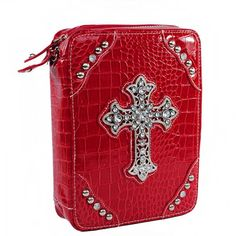 Leatherette Large Cross Bible Cover