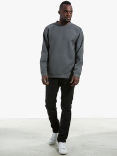 Sweater with waffle structure by Libertine Libertine Trousers by hannibal collection