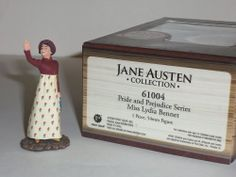 BRITAINS 61004 MISS LYDIA BENNET PRIDE AND PREJUDICE JANE AUSTEN METAL FIGURE