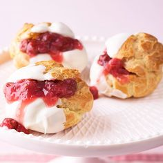 Everyone loves cream puffs! Try one of our favorite recipes here: http://www.bhg.com/recipes/ethnic-food/french/french-desserts/?socsrc=bhgpin010714whitechocolatecherrycreampuffs&page=13
