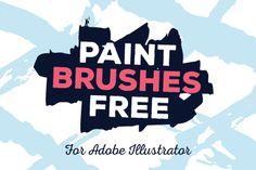 Free Illustrator Paint Brushes
