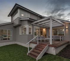 James Hardie, Modern Coastal, Coastal Style, House Wall, Architecture Plan, East Side, Beach House, Pergola, Villa