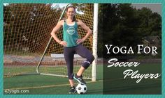 Learn to prevent soccer injuries with this pre-soccer warmup yoga video. | 42yogis.com