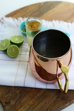 Ginger Tequila Hot Toddy Drink!