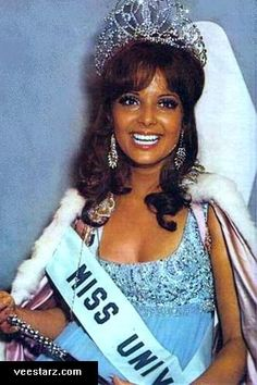 Marisol Malaret Contreras    Marisol Malaret     Marisol Malaret Contreras the first Puerto Rican woman to be crowned Miss Universe.   b 13OCT1949 Utuado, PR  Puerto Rico is one of the most successful competitors in the history of the Miss Universe pageant. Marisol Malaret,1970,  Deborah Carthy-Deu 1985, Dayanara Torres 1993, Denise Quiñones 2001, and Zuleyka Rivera 2006.   http://www.veestarz.com/featured/062007.html