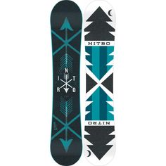 Open up new shredding possibilities and choose your own destiny with the Nitro Women's Fate Zero Camber Snowboard. It has a versatile flat profile, directional twin shape, and medium flex so you can conquer any and every type of terrain on the mountain. The Zero Camber profile is flat for a stable and forgiving feel that still retains much of the pop and edge hold that you get from a cambered board. The Powerlite core uses ultra-lightweight poplar for an unmatched strength-to-weight ...