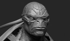 ZBrush - Ninja Turtle Sculpting Time-Lapse
