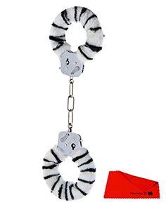 H3006009509 FURRY FUN CUFFS ZEBRA Plüsch Bondage Handschellen cuffs Sex Toys