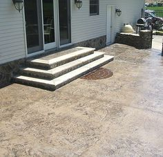 patio steps design ideas | stairs can be designed to match the ... - Patio Steps Design