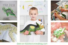 These look like fun! --> 7 Playful Dinosaur Activities
