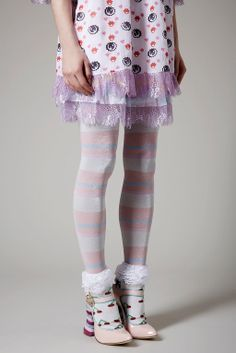 Meadham Kirchhoff: Cherry Frill Ankle Socks {asking $10} (new without tags)