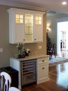 Lovely Built In Wine Rack In Kitchen Cabinets