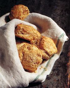 These tender biscuits are best eaten right from the oven. Adjust the cayenne pepper to your taste.