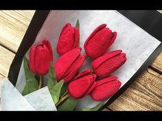 Kağıttan el işi sanatlarından güzel bir çiçek yapımı. Krepon kağıttan çiçek yapımı modellerinden lale yapılışına değiniyoruz bugün. Sizde dekorasyonunuz iç