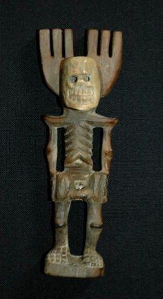 Vintage Guatemalan Slingshot of Pascual Baylon w Bone Mayan Folk Art Banned | eBay
