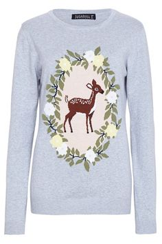 AT14 Floral Bambi Sweater - Sugarhill Boutique