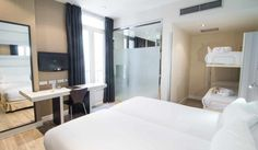 Petit Palace Arenal Hotel in Madrid (Spain). LA LITERAL Bunkbeds