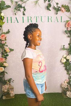 Natural Hair Salons, Natural Hair Styles, Natural Hairstyles For Kids, Hairstyle Ideas, Girl Hairstyles, Hair Care, The Creator, Braids, Girls