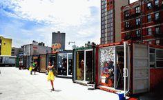 Container SA: Dekalb Market: O Shopping de Rua com Contêineres