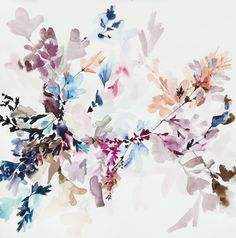 Mountain Meadow Study - 8 by Jen Garrido Floral Illustrations, Graphic Illustration, Watercolor Flowers, Watercolor Paintings, Watercolours, Watercolor Branding, Botanical Flowers, Floral Wall Art, Painting Inspiration