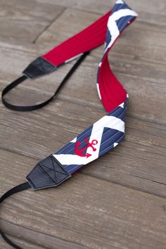CAMERA STRAP in Anchors Away by BrowardPatch on Etsy, $27.00