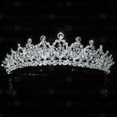 Wedding Headpieces, Bridal Headpieces - Page 2 Bridal Tiara, Headpiece Wedding, Bridal Headpieces, Royal Tiaras, Tiaras And Crowns, Wedding Tiaras, Wedding Veils, Wedding Dresses, Rhinestone Wedding