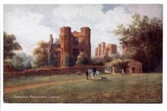 ENGLAND - Entrance to Kenilworth Castle 1920