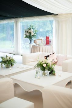 """There's nothing like an English garden wedding to make me dream of picking up and moving across the pond. Complete with a charming village backdrop and traditional horse drawn carriage, it's """"classic""""..."""