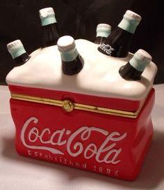 Coca Cola Trinket Box
